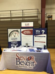 Booth at McDaniel College